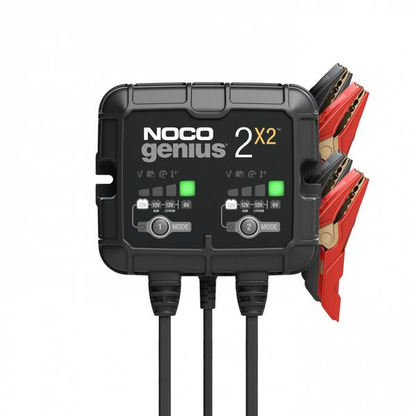Bilde av NOCO Elektronisk Batterilader 6/12V 2x2A (2-kanaler)