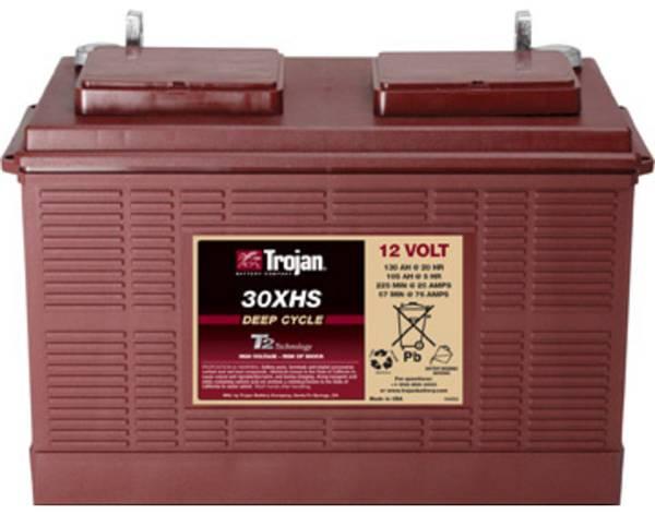 Bilde av TROJAN Deep Cycle Traksjonsbatteri 12V 130AH (354x171x256mm) +ve