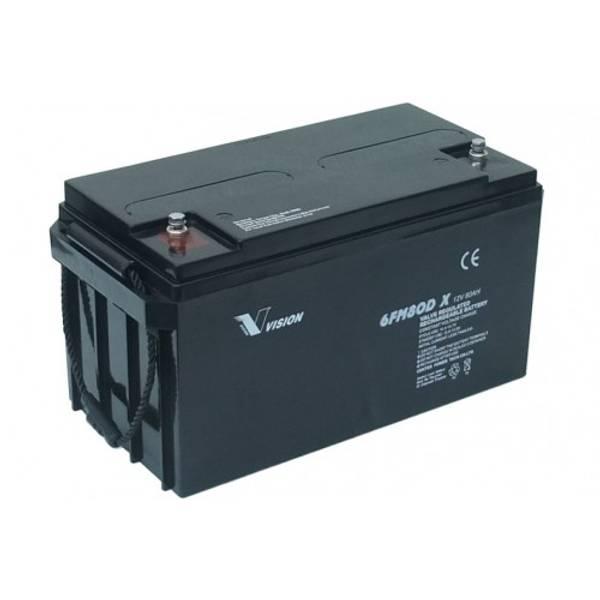 Bilde av VISION AGM Batteri 12V 80AH 350x167x183