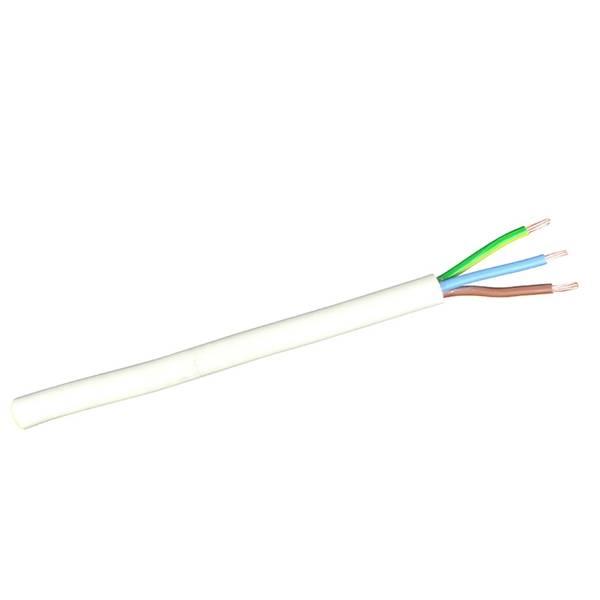Bilde av Kabel 3x2,5mm2 Sort - Dobbeltisolert Rund til utebruk