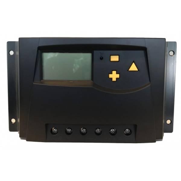 Bilde av SKANBATT MPPT Solcelleregulator 12/24V 30A med display