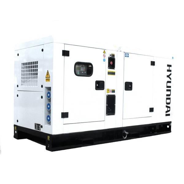 Bilde av HYUNDAI DHY34KSE Diesel strømaggregat 34,4kVA 3-fas