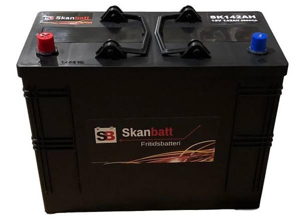 Bilde av SKANBATT Fritidsbatteri 12V 142AH 850CCA (349x175x290mm) +Venstr