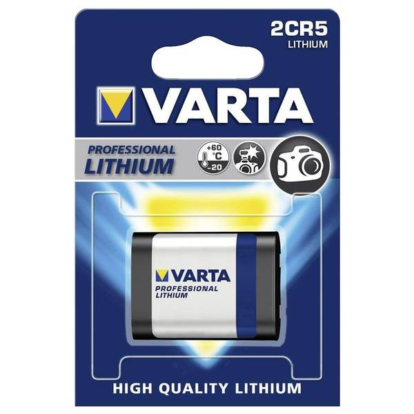 Bilde av VARTA Lithium 6V 2CR5 1-Pakning