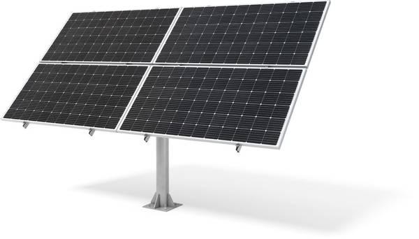 Bilde av Bakkestativ til solcelle 4x300/350W (Wattstunde)
