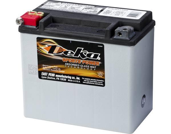 Bilde av DEKA MC Batteri 12V 19AH 325CCA (175x100x155mm) +venstre