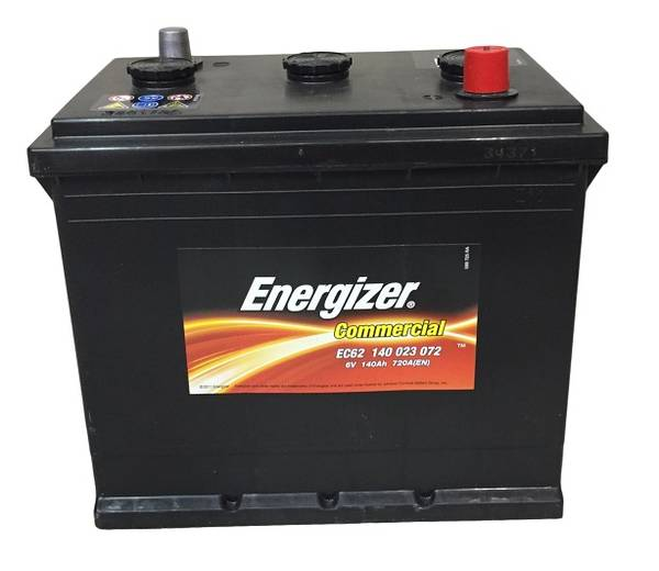 Bilde av EC62 ENERGIZER Commercial Batteri 6V 140AH 720CCA (260x175x236mm