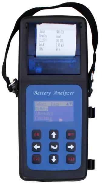 Bilde av Batteritester Elektronisk 12V med skriver