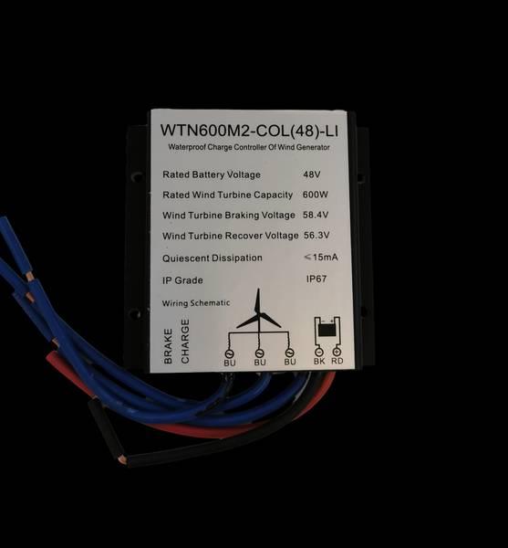 Bilde av SKANBATT WTN600S-LI Laderegulator til 48v 600w vindturbin for li