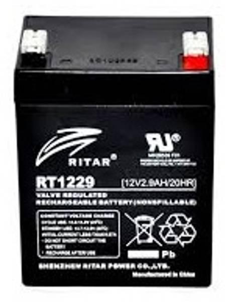 Bilde av RITAR AGM Batteri 12V 2,9AH (79x56x106mm) F1