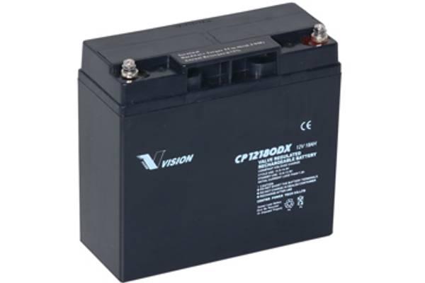 Bilde av VISION AGM Batteri 12V 18AH (181x77x167mm)