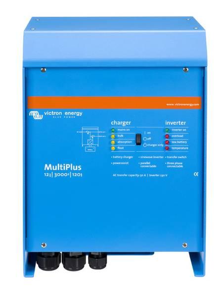 Bilde av VICTRON MultiPlus C12/3000/120-16 kombi inverter og lader