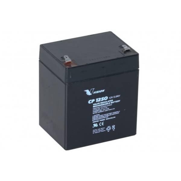 Bilde av VISION AGM Batteri 12V 5Ah (91x71x107) F2