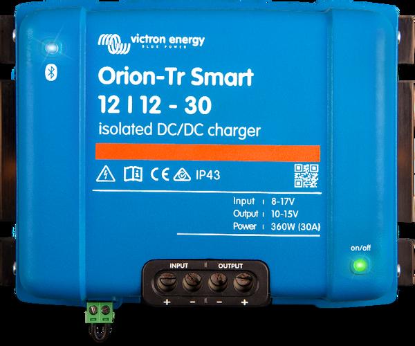 Bilde av VICTRON Orion TR Smart DC-DC Lader 12>12V 30A (Ikke isolert)