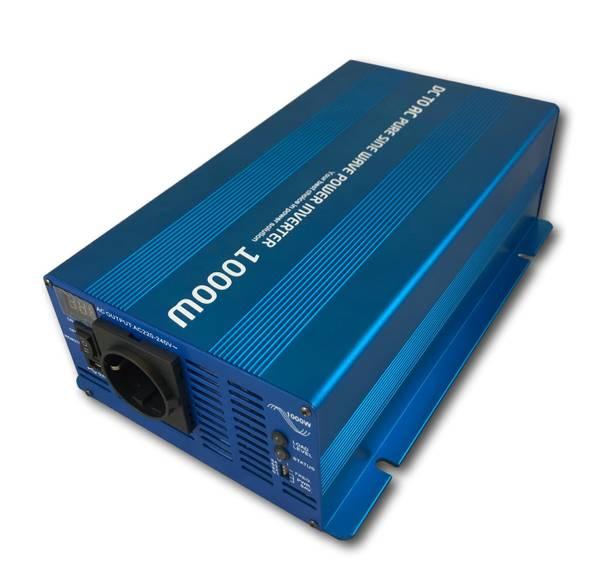 Bilde av INVERTER 12V 1000W Ren sinus m/fjernkontroll