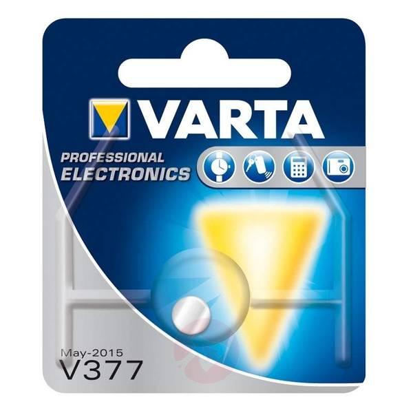 Bilde av VARTA Silver oxide V377/SR66 1,5V 1-Pakning