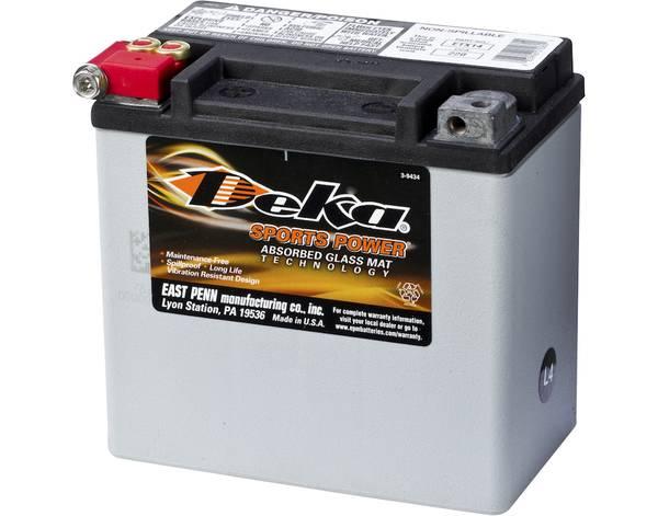 Bilde av DEKA MC Batteri 12V 12AH 220CCA (150x88x145mm) +venstre