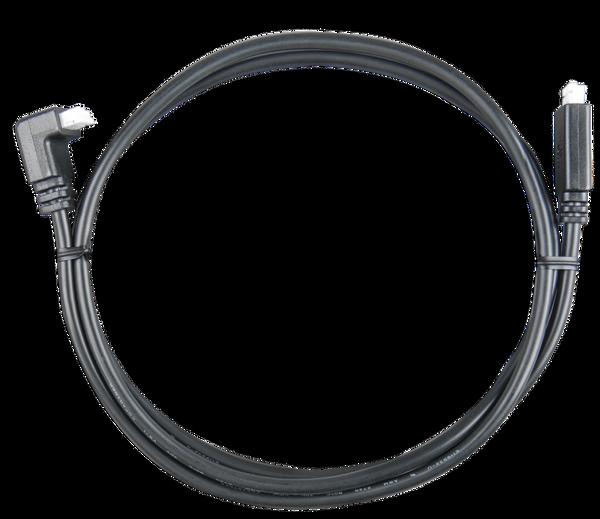 Bilde av VICTRON VE Direct kabel 5mtr m/ vinkel (90` kontakt i en ende)