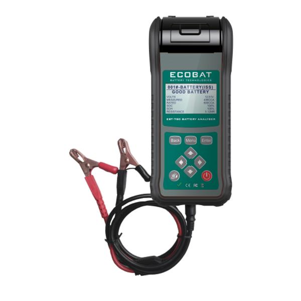Bilde av ECOBAT Elektronisk Batteritester EBT-780 m/printer