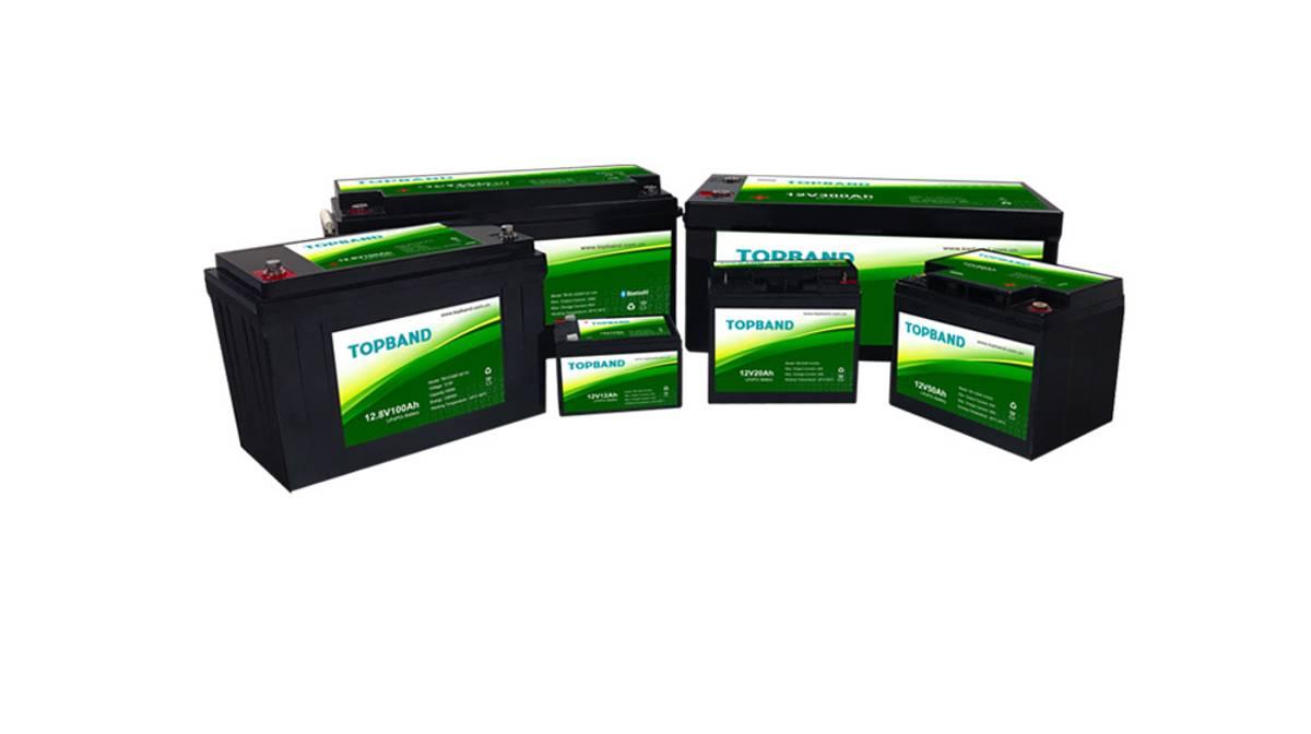 TOPBAND Lithium HEAT PRO - 12V 100AH BOBIL  Bluetooth