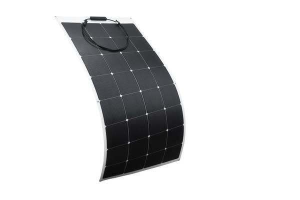 Bilde av 160W SKANBATT Fleksibelt Solcellepanel Mono 160W