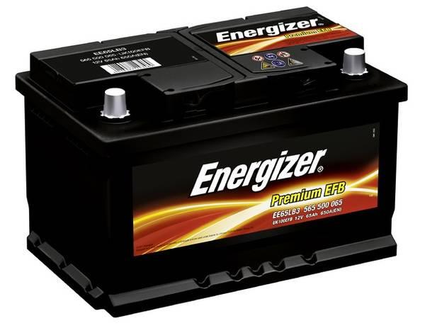 Bilde av EE65LB3 ENERGIZER Premium EFB Batteri 12V 65AH 650CCA (278x175x1