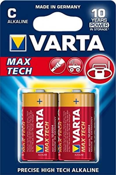 Bilde av VARTA Max Tech C 1,5V 2-pakning