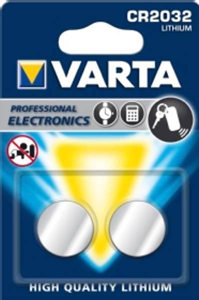 Bilde av VARTA Lithium CR2032 3V 2-Pakning
