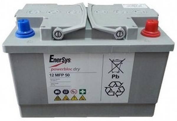 Bilde av ENERSYS 12MFP50 Powerblock GEL 12V 50AH (278x175x190mm)