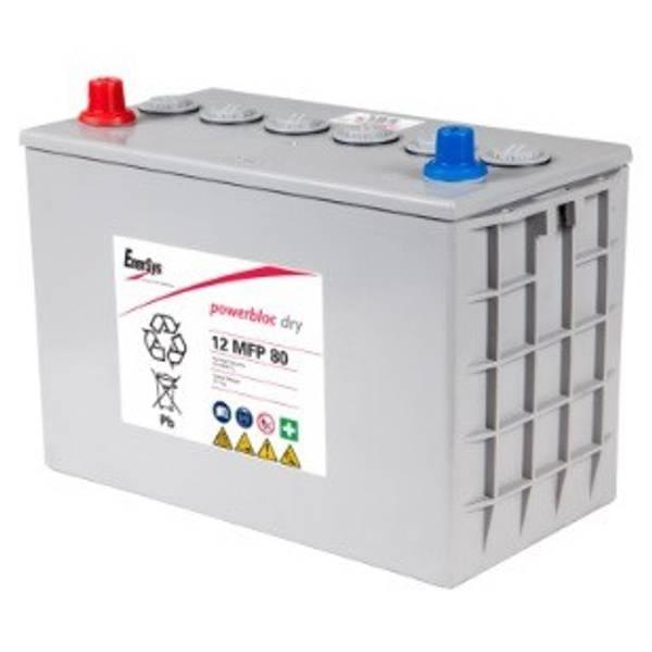 Bilde av ENERSYS 12MFP80 Powerblock GEL 12V 80AH (307x169x228mm)