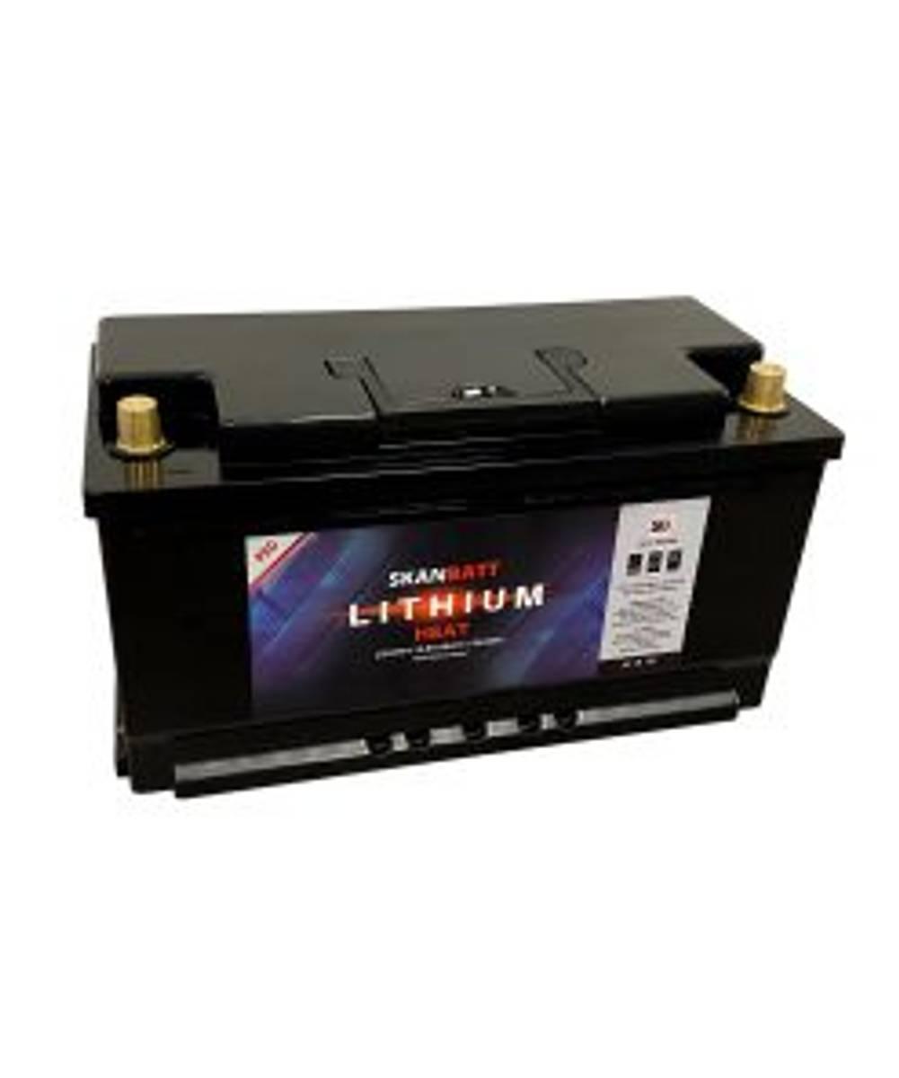 SKANBATT Lithium HEAT PRO 12V 98AH 100A BMS - Bobil