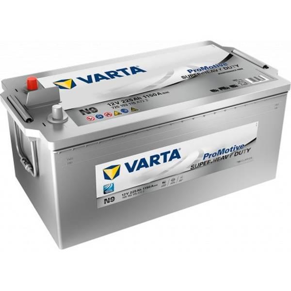 Bilde av  VARTA N9 Promotive SHD Batteri 12V 225AH 1150CCA (518x276x210/