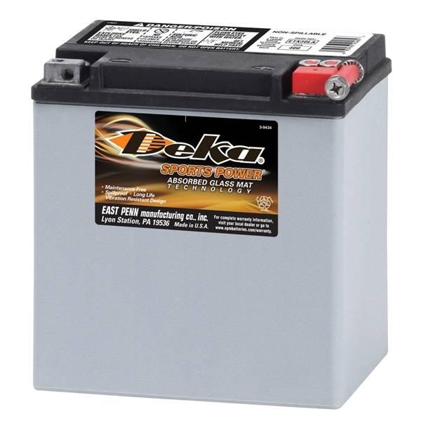 Bilde av DEKA MC Batteri 12V 26AH 400CCA (166x131x175mm/197mm med adapter