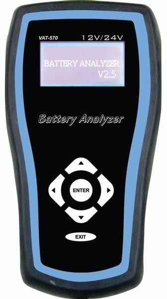 Bilde av Batteritester Elektronisk 12V/24V