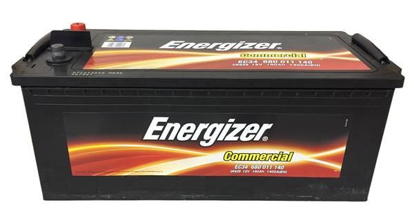 Bilde av EC34 ENERGIZER Commercial Batteri 12V 180AH 1400CCA (513x223x205
