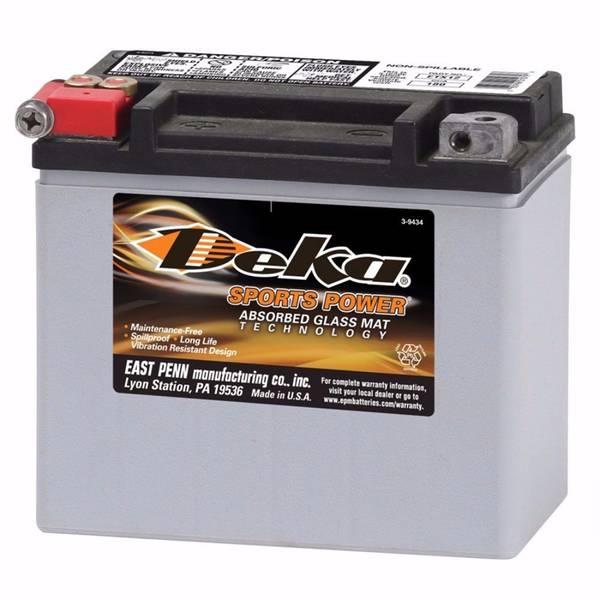 Bilde av DEKA MC Batteri 12V 12AH 180CCA (150x88x130mm) +venstre