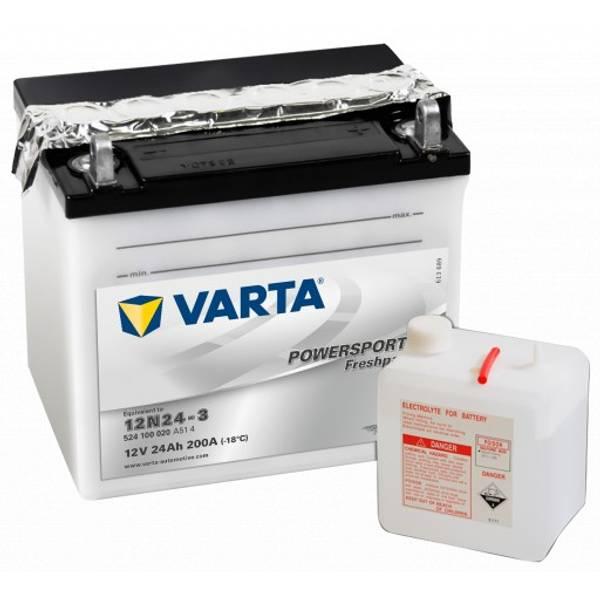 Bilde av VARTA MC Batteri 12V 24AH 12N24-3