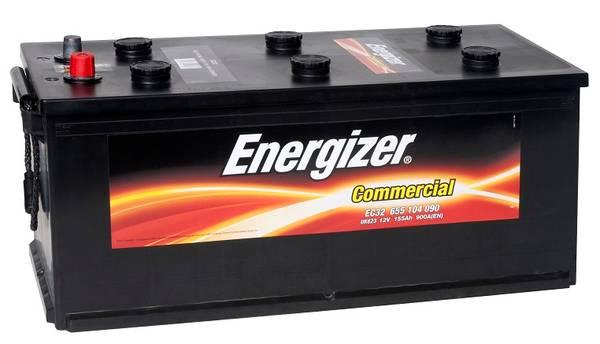 Bilde av EC32 ENERGIZER Commercial Batteri 12V 155AH 900CCA (510x218x210/