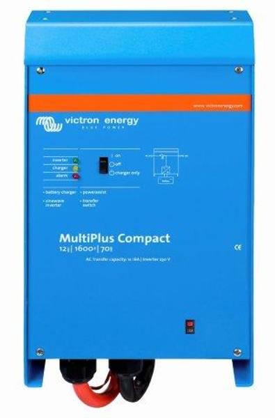 Bilde av VICTRON MultiPlus C12/1600/70 kombi inverter og lader