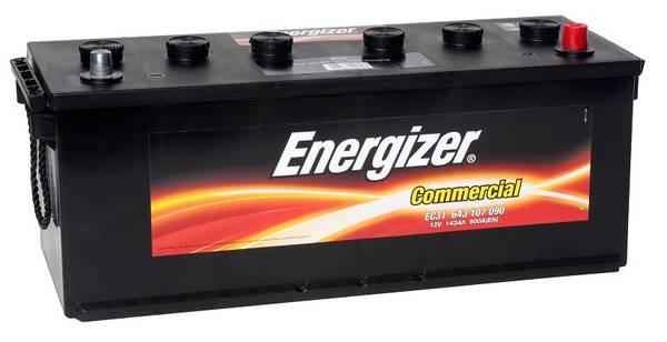 Bilde av EC31 ENERGIZER Commercial Batteri 12V 143AH 900CCA (508x174x190/