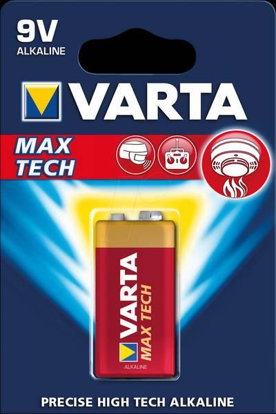 Bilde av VARTA Max Tech 9V 1-pakning