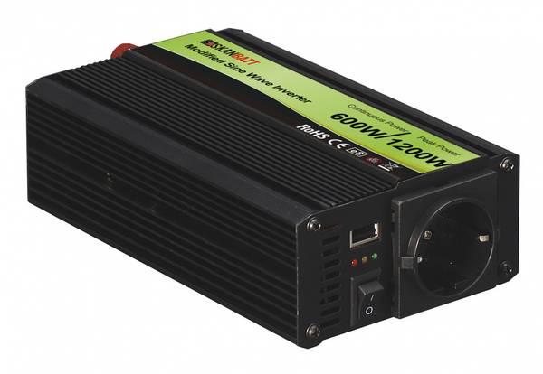 Bilde av SKANBATT Inverter Modifisert Sinus 12V 600W