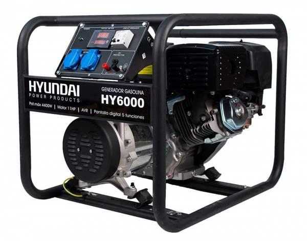 Bilde av HYUNDAI HY6000 Strømggregat 4400W - Bensin