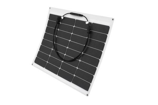 Bilde av 55W SKANBATT Fleksibelt Solcellepanel Mono 55W