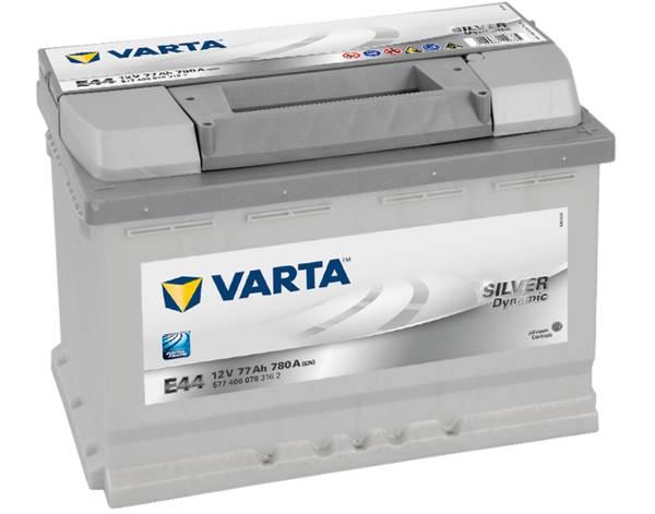 Bilde av VARTA E44 Silver Dynamic Batteri 12V 77AH 780CCA