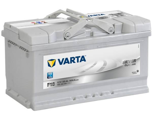 Bilde av VARTA F18 Silver Dynamic Batteri 12V 85AH 800CCA