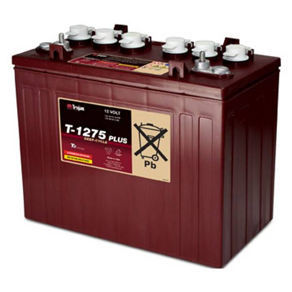 Bilde av TROJAN Deep Cycle Traksjonsbatteri 12V 150AH (329x181x272mm) +hø