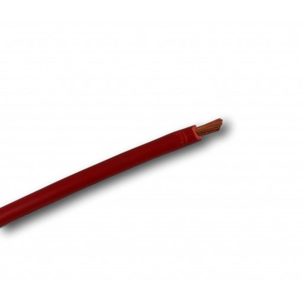 Batterikabel 10mm2 Rød