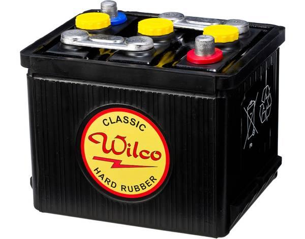 Bilde av Wilco HR Classic 6V 66AH 265CCA (190x170x165/190) +diagonalt
