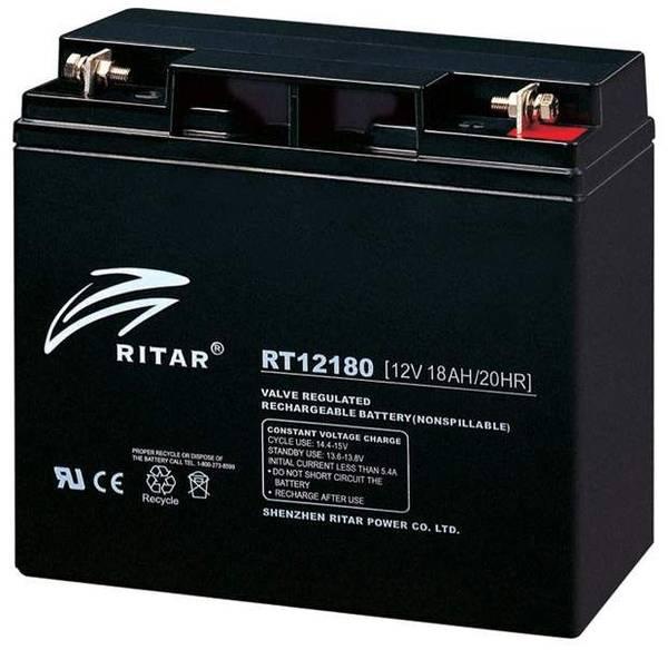 Bilde av RITAR AGM 12V 18AH (181x77x167mm) M5